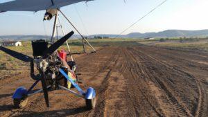 beginning of landingstrip in umkmaas